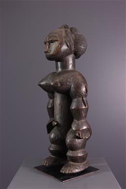 Vrouwelijk standbeeld Attié Nkpasopi