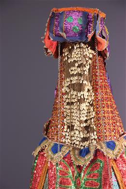 Masque Egungun Yoruba kostuum