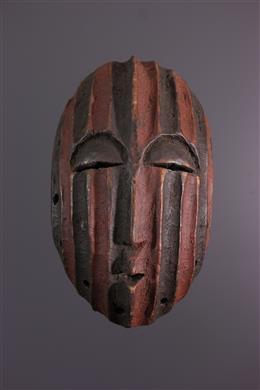 Masque gezicht Tetela / Yela