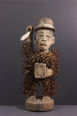 Solongo Kongo fetish standbeeld