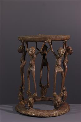 Tikar prestige bronzen stoel