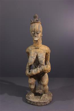 Urhobo moederschap figuur