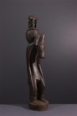Senoufo gebeeldhouwd figuur uit Ivoorkust