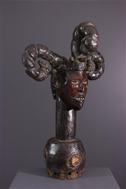 Tribale kunst - Crest Ekoi Ejagham