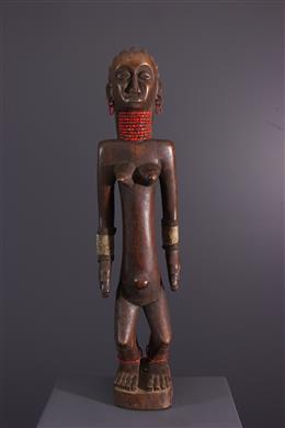Vrouwelijke figuur OviMbundu Nyaneka