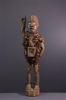 Standbeeld Nkondi Solongo