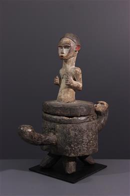 Tribale kunst - Tsogho Reliquary Doos