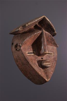 Tribale kunst - Lwalwa Mvondo Masker