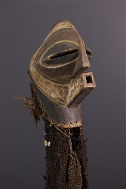 Songye Kifwebe Ndoshi masker en kostuum