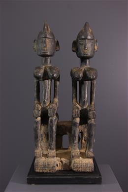 Een paar Dogon voorouders