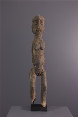 Vrouwelijke figuur Lobi Bateba