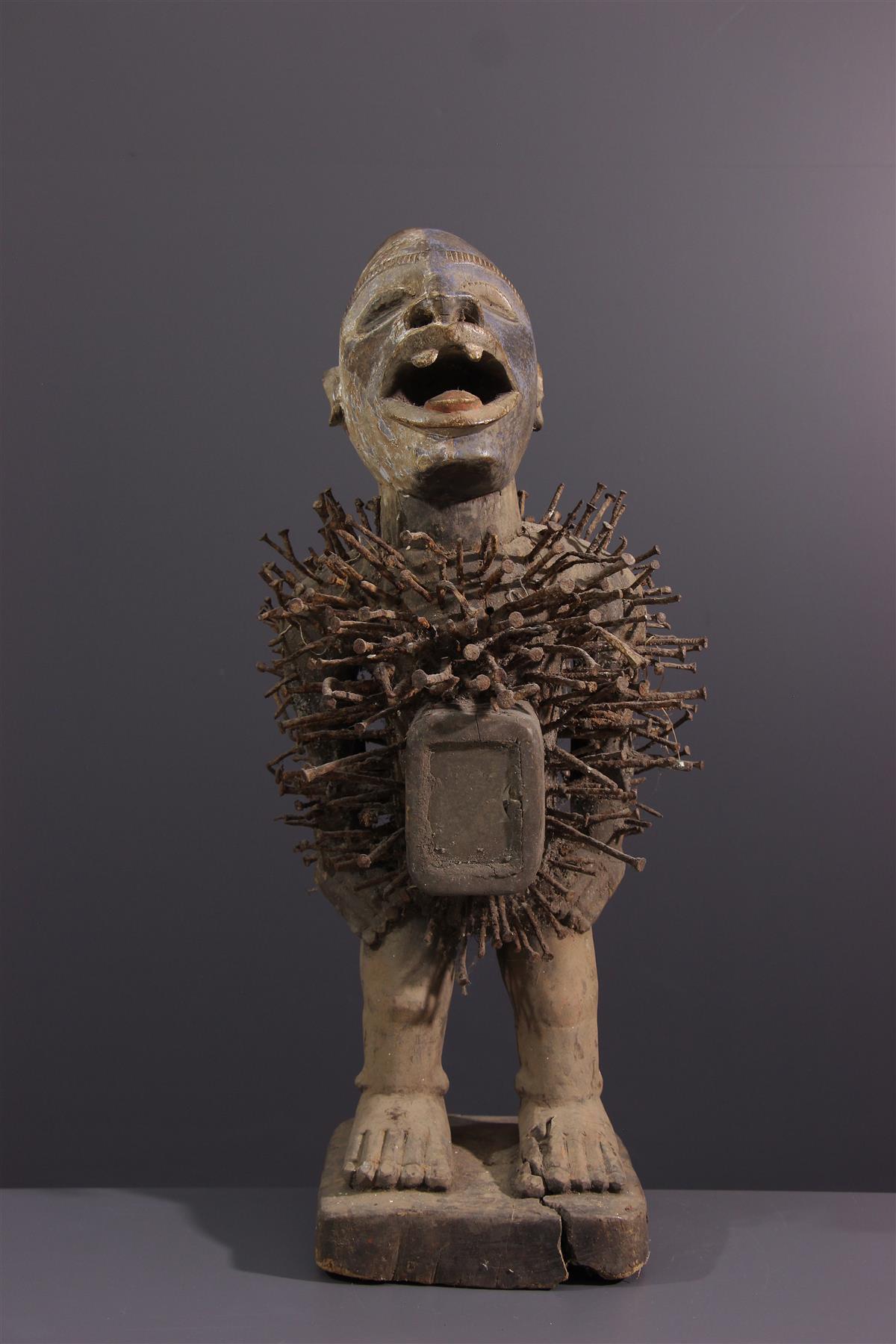 Nkondi standbeeld - Tribale kunst