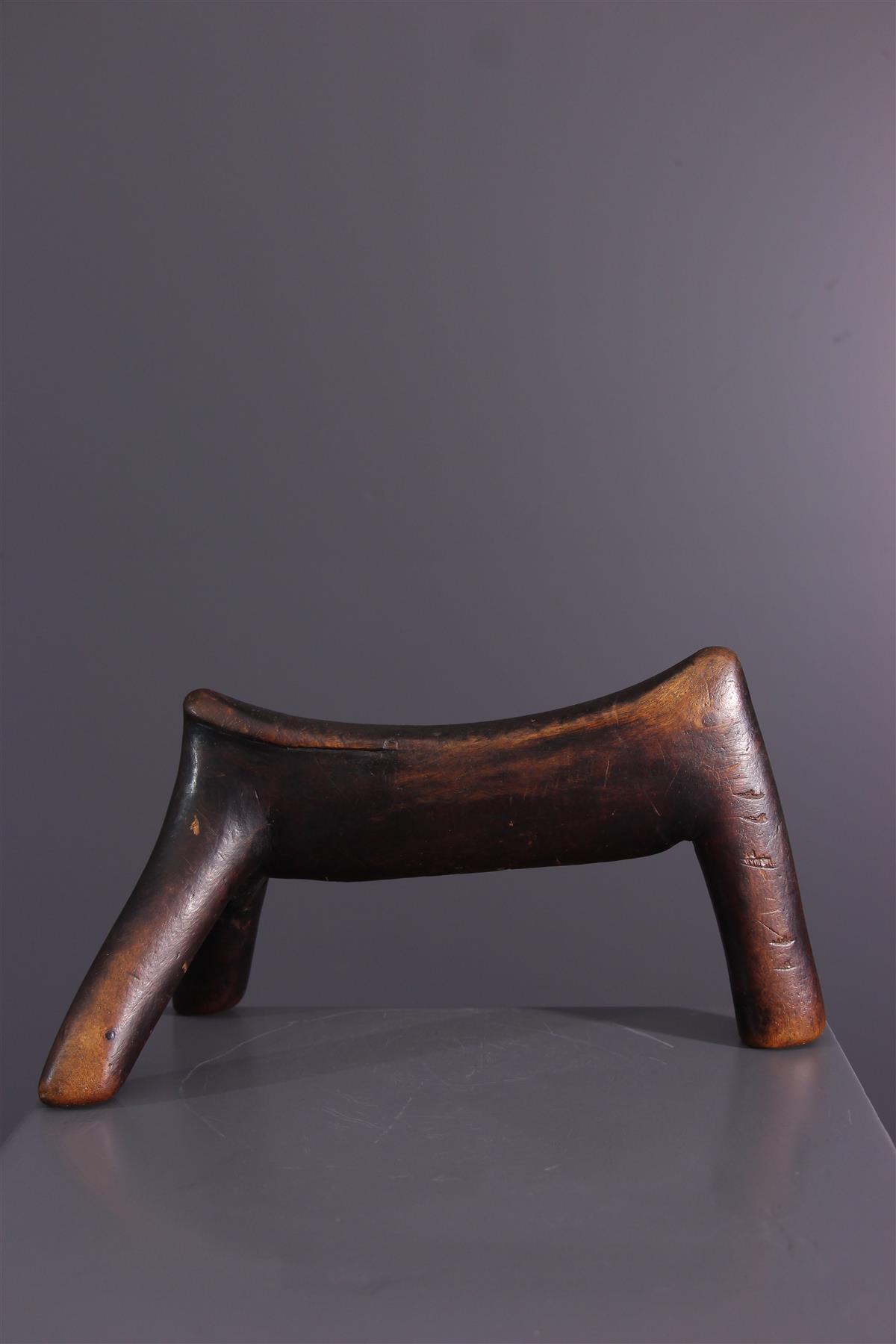 Hoofdsteun Kenia - Tribale kunst