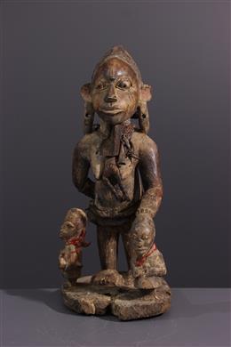 Tribale kunst - Yoruba moederfiguur