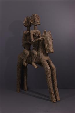 Dogon ruiters standbeeld