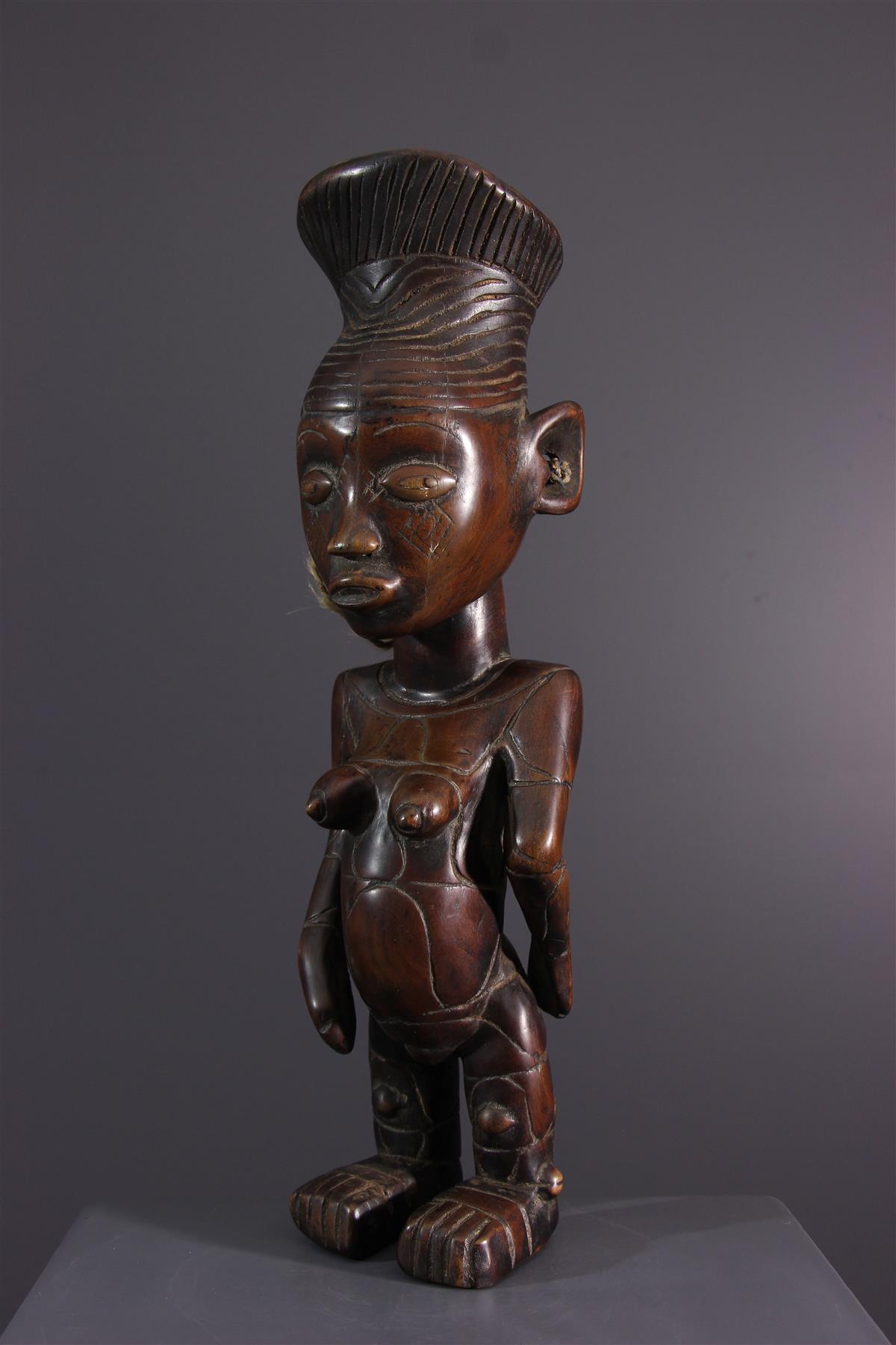 Mangbetu beeldje - Tribale kunst