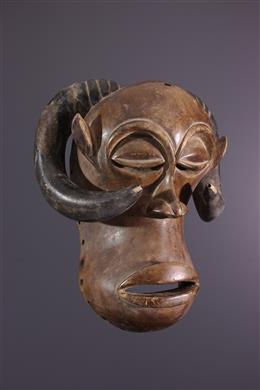 Mukisi a kukaya zoomorphic Luba masker